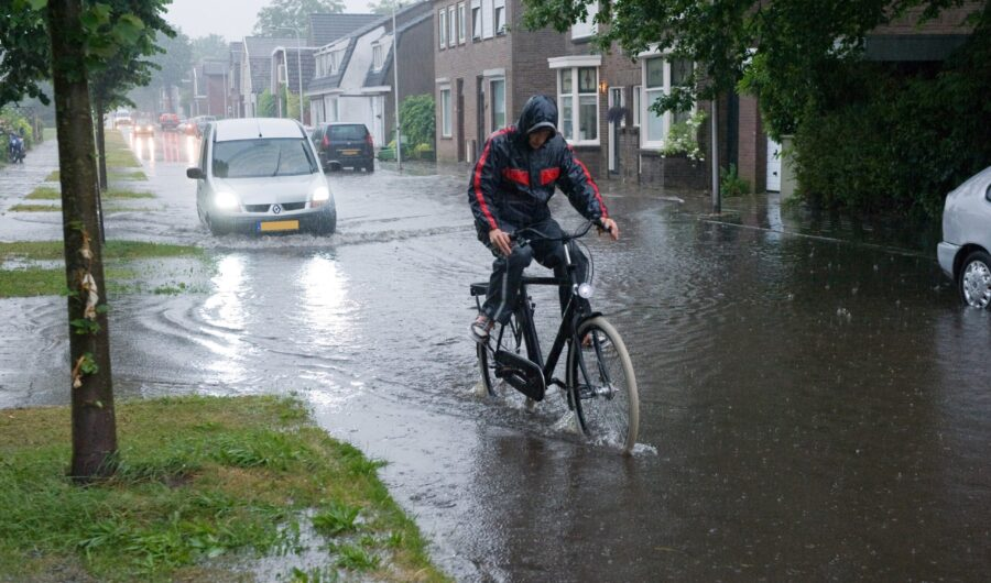 Rainwater problems in the Netherlands